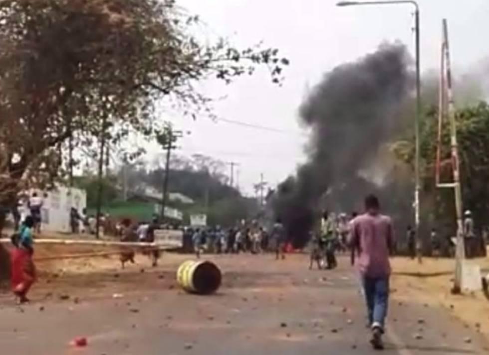 Una calle de Blantyre, donde se han producido los más recientes ataques.