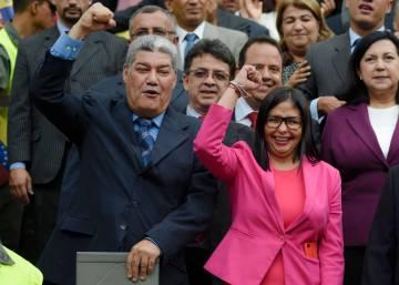 Solo los gobernadores chavistas juraron su cargo ante la Constituyente