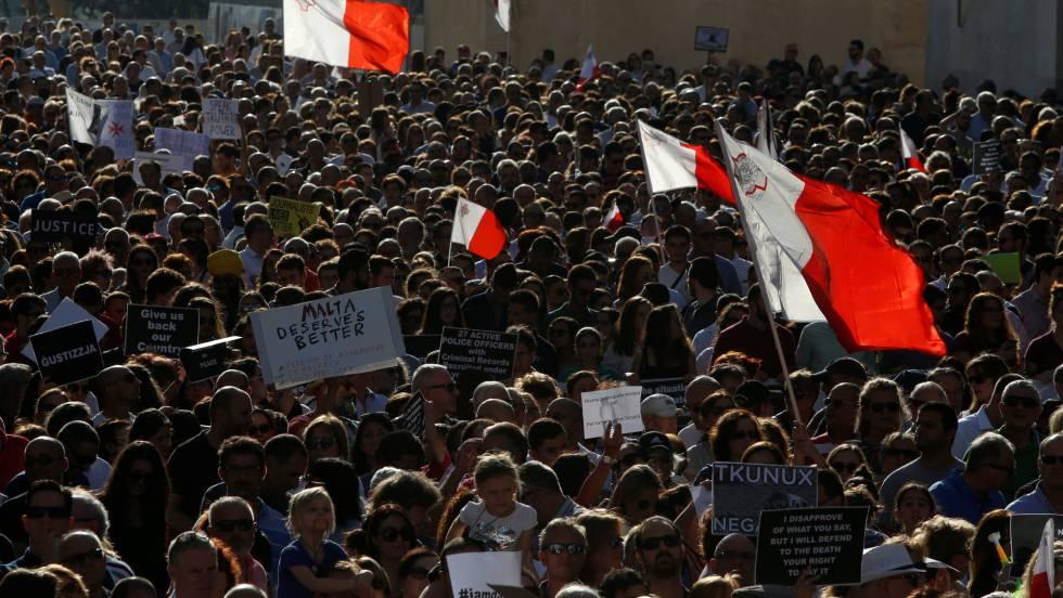 Resultado de imagen de Los malteses participan en la vida civil