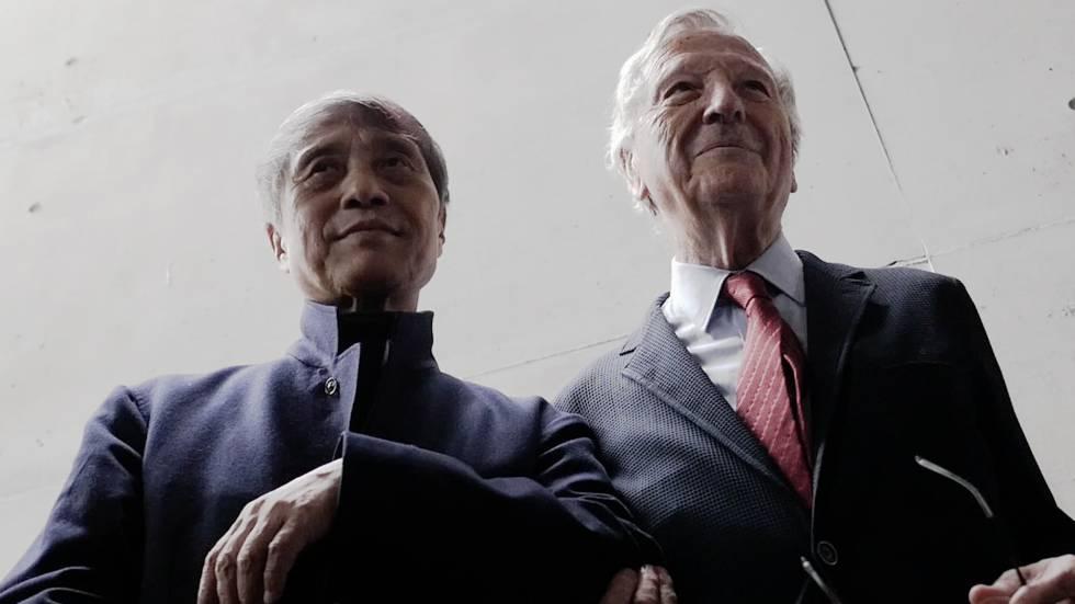 Tadao Ando y Rafael Moneo.
