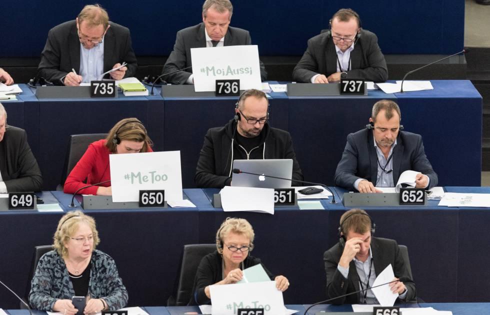 Resultado de imagen de parlamento europeo acoso