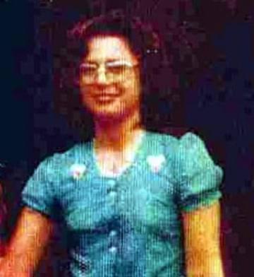 Lucía Tartaglia, detenida desaparecida.