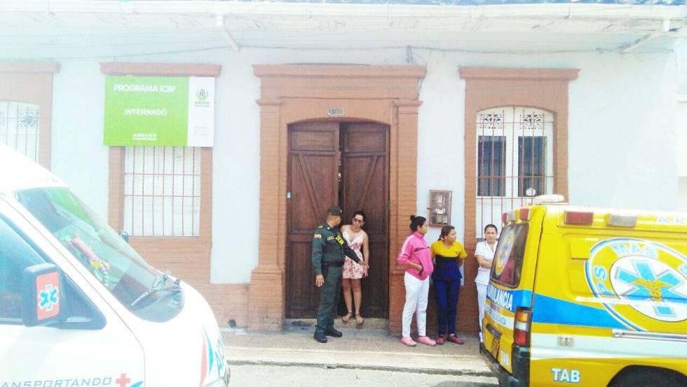Fachada de la Fundación Peces Vivos de Ibagué.