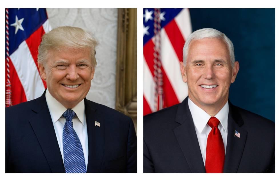 Trump ya tiene su retrato oficial... nueve meses después de llegar a ...