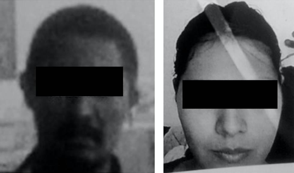 Los padres del menor asesinado.