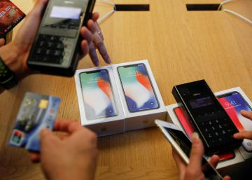 Golpe al iPhone X en una Apple Store de San Francisco