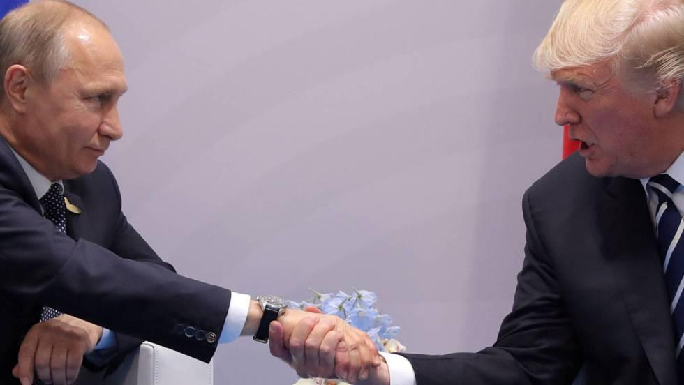 Putin y Trump, en julio en Hamburgo