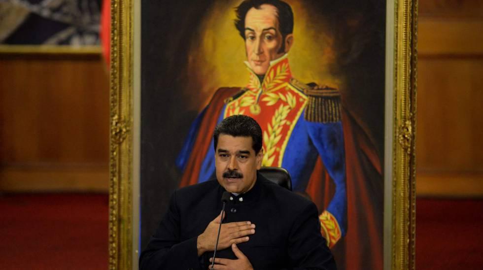 Nicolás Maduro en una comparecencia reciente.