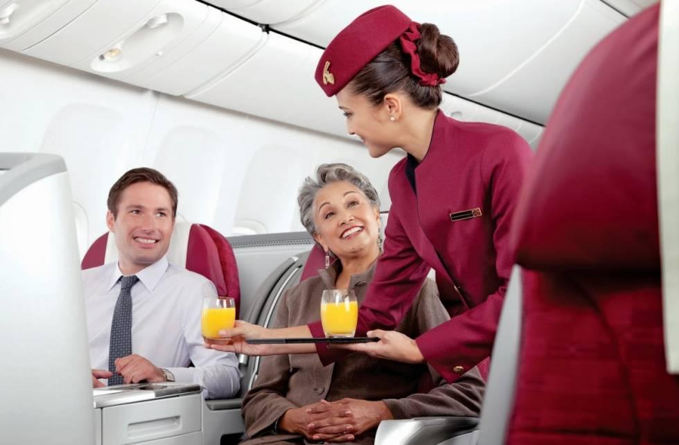 Imagen promocional de Qatar Airways.