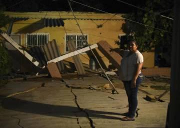Un fuerte terremoto sacude el sur de México