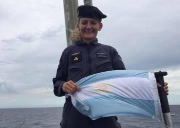 La primera oficial submarinista de Sudamérica está a bordo de la nave perdida en el Atlántico