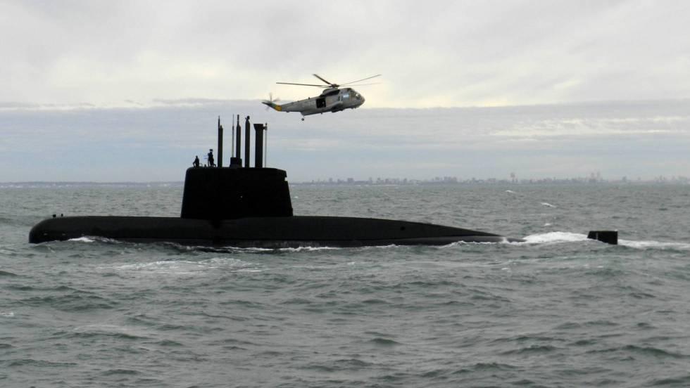 El mal tiempo dificulta la búsqueda del submarino argentino ARA San Juan