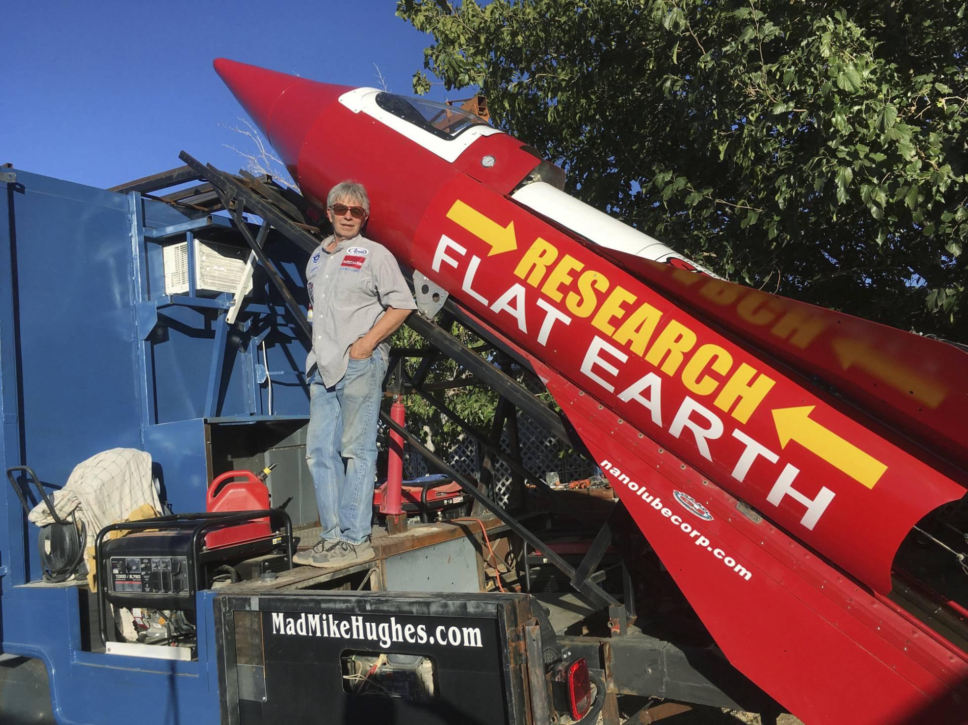 Un hombre se lanzará en un cohete casero para intentar demostrar que la Tierra es plana 1511348042_449549_1511348150_noticia_normal_recorte1