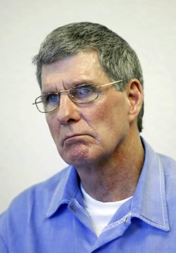 Charles Tex Watson, en una vista de libertad condicional en 2011.