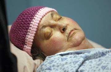 Susan Atkins, en septiembre de 2009, cuando murió de cáncer de cerebro.