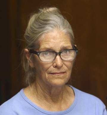 Leslie Van Houten, en la audiencia para la libertad condicional el pasado 6 de septiembre.