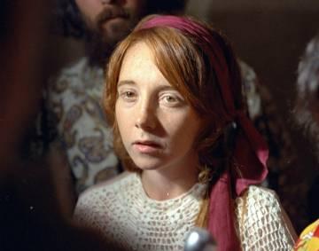 Lynette Fromme, durante el juicio de sus amigos en 1970.