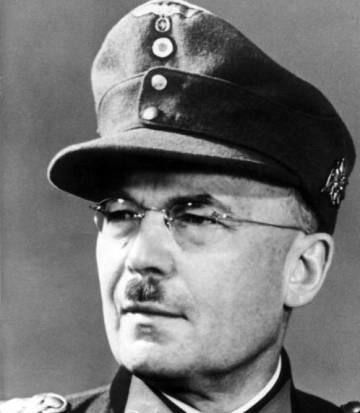 Franz Böhme, en enero de 1945.