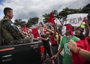 Resultado de imagen para Protestas callejeras en Honduras por resultados electorales