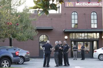 La hamburguesería donde trabajaba el sospechoso.