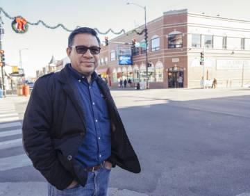 José Humberto Mora, activista de Chicago.