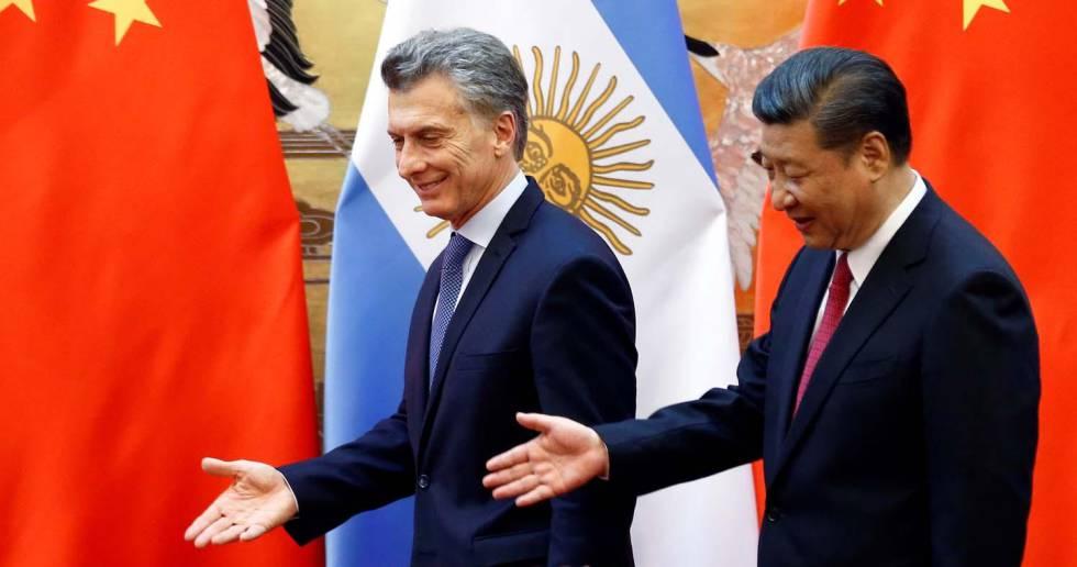 El presidente de China, Xi Jinping, durante una visita a Argentina