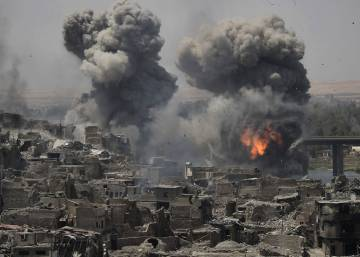 Siria de sur a norte tras seis años de guerra