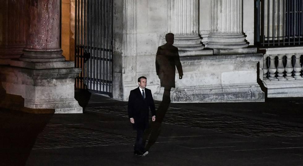 Emmanuel Macron el 7 de mayo de 2017, cuando fue elegido presidente