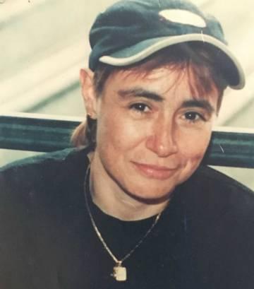 Martha Álvarez en uno de sus días en prisión. Estuvo detenida desde 1994 hasta 2002.
