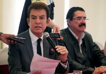S.Nasralla y M. Zelaya