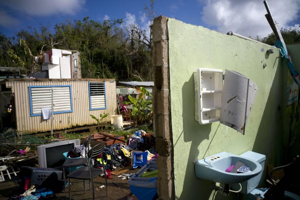 Puerto rico recuenta las muertes por el hurac n mar a estados unidos el pa s - Volar a puerto rico ...