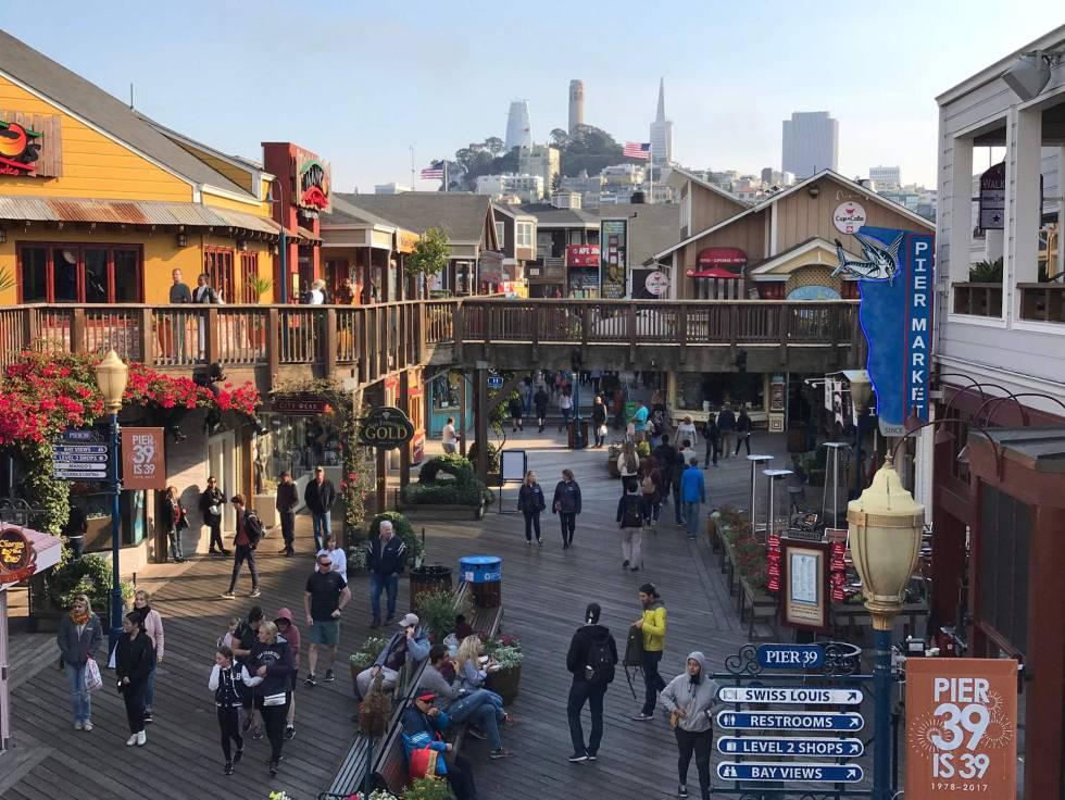 El Pier 39 de San Francisco, el pasado octubre.