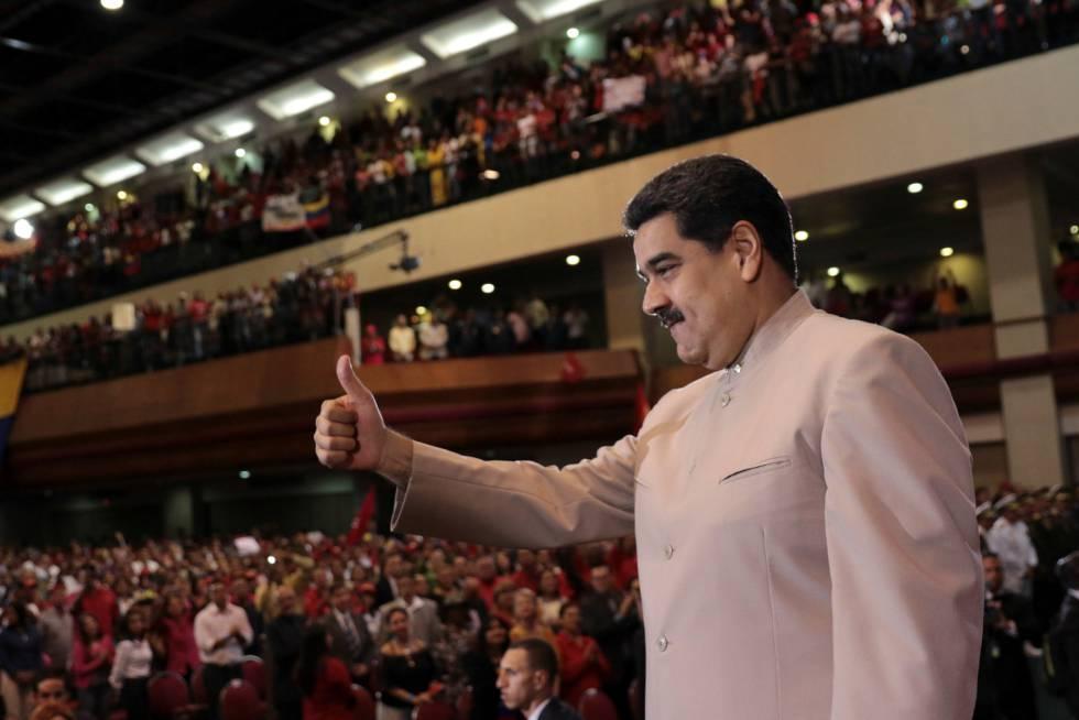 Nicolás Maduro en Maracaibo.