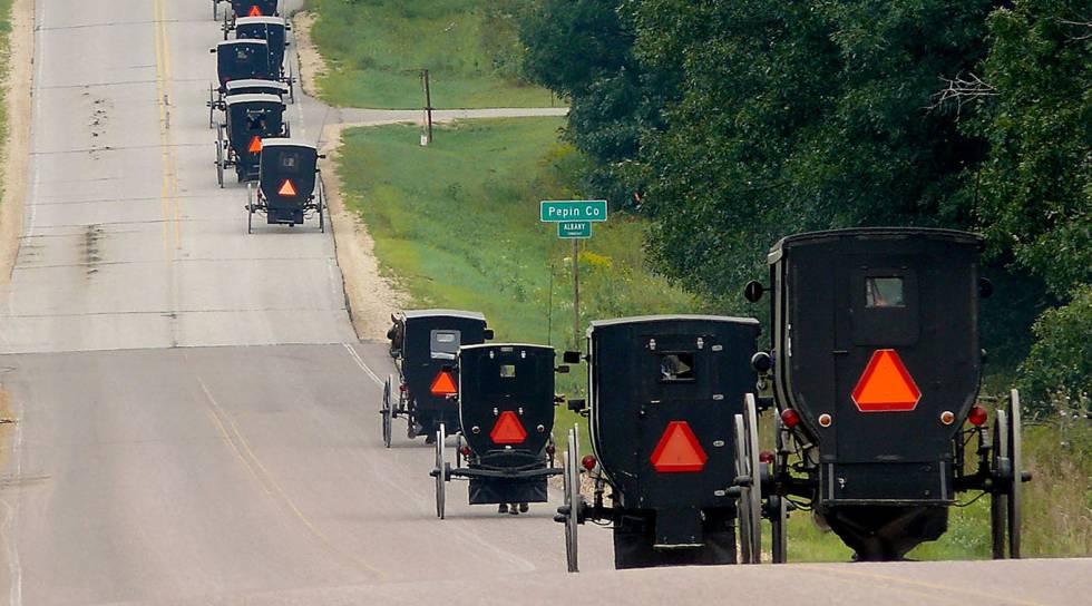 Os Amish ganham disputa com o mundo moderno