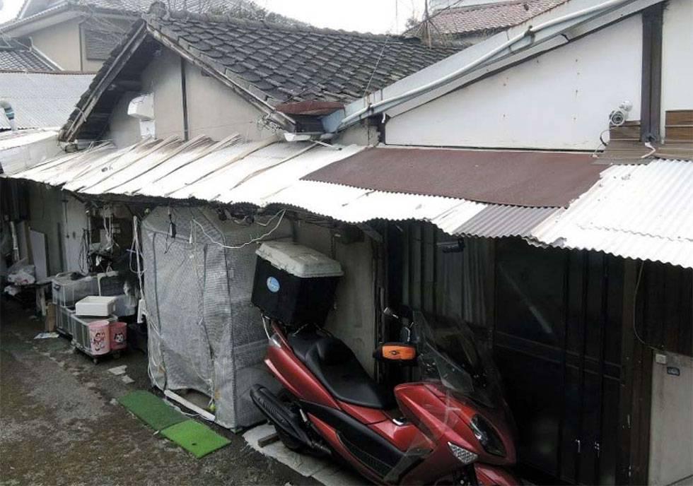 Exterior de la vivienda donde fue hallado congelado el cadáver de Airi Kakimoto.