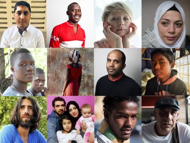 18 refugiados relatan qué esperan del nuevo año