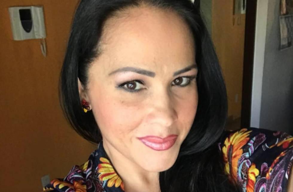 Alejandra Castellanos en una imagen de su cuenta de Facebook.