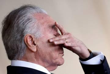 El actual presidente de Brasil, Michel Temer, el 21 de diciembre de 2017.