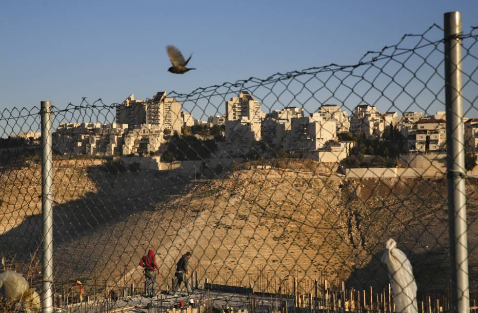 Foto de archivo del asentamiento israelí de Maale Adumim, cercano a Jerusalén.
