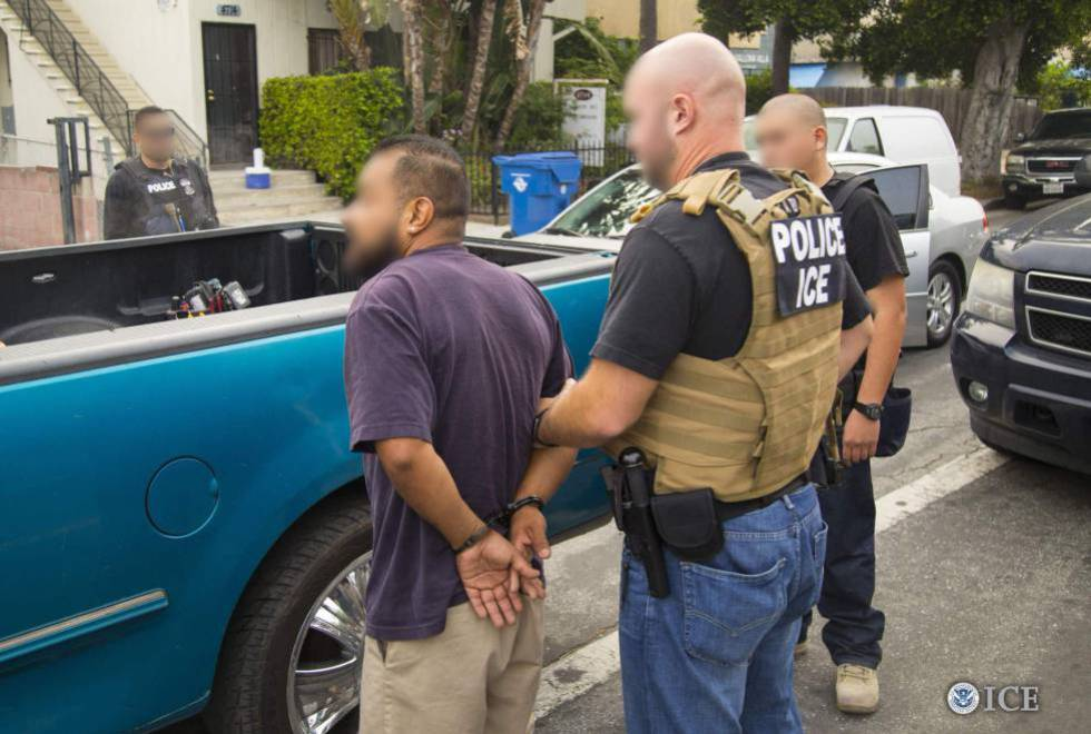 Una redada contra inmigrantes en mayo en Los Ángeles