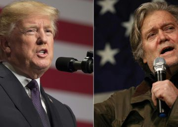 Trump pone a Bannon en la picota y busca el apoyo del 'establishment' republicano