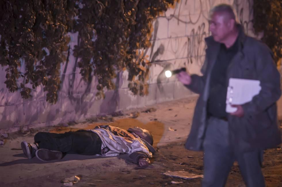 Un hombre asesinado en Baja California el pasado sábado.