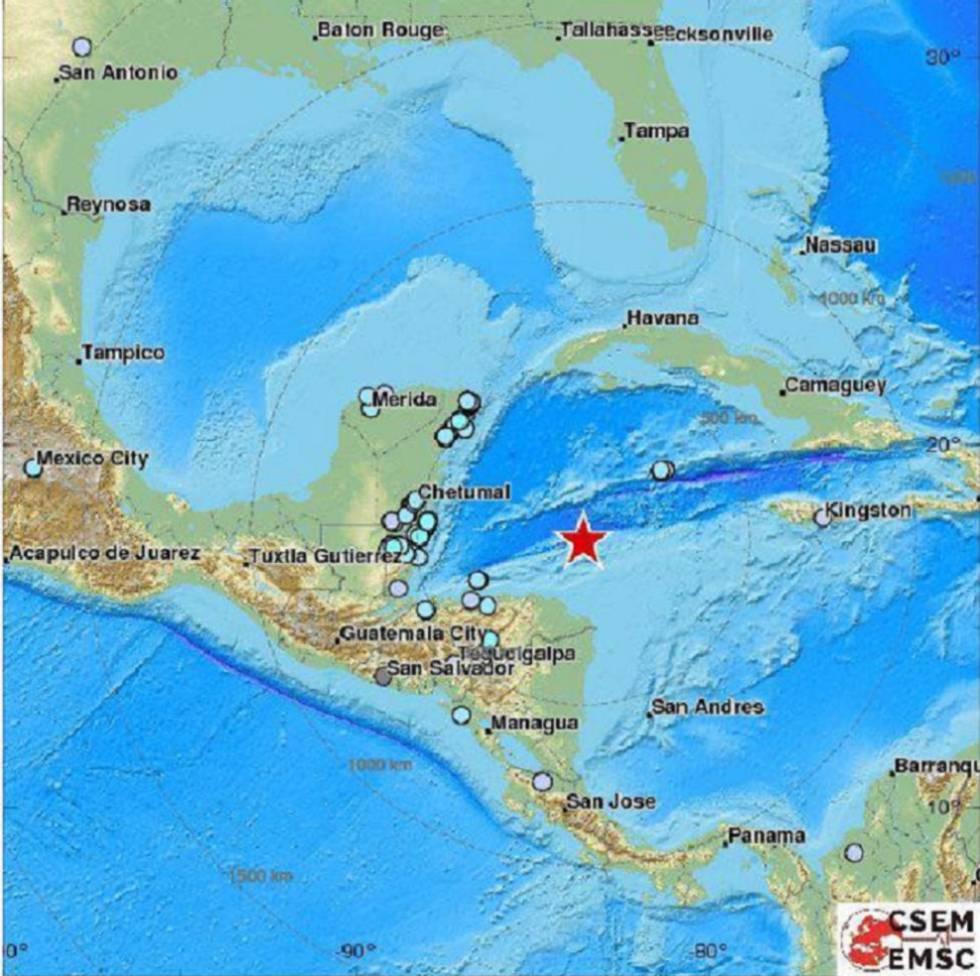 Terremoto en Honduras