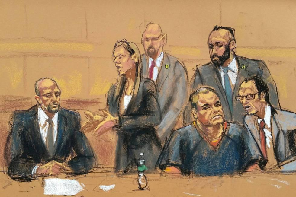 Resultado de imagen para el chapo a juicio