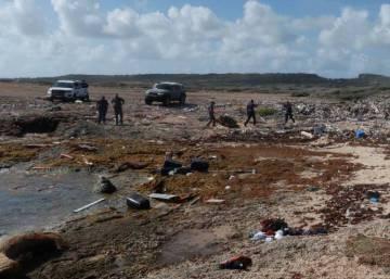 Cuatro venezolanos muertos y 20 desaparecidos al hundirse el barco en el que intentaban llegar a Curazao