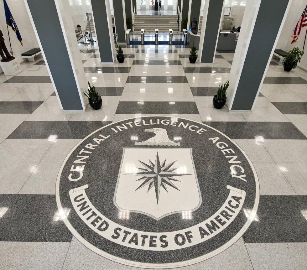 La entrada de la CIA.