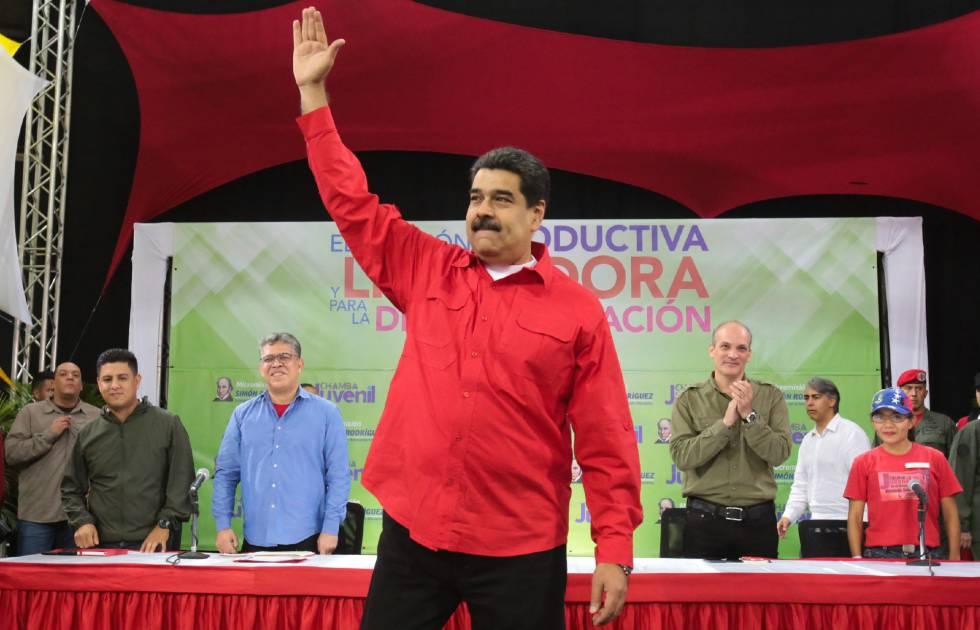 Nicolás Maduro, el pasado miércoles en Caracas.