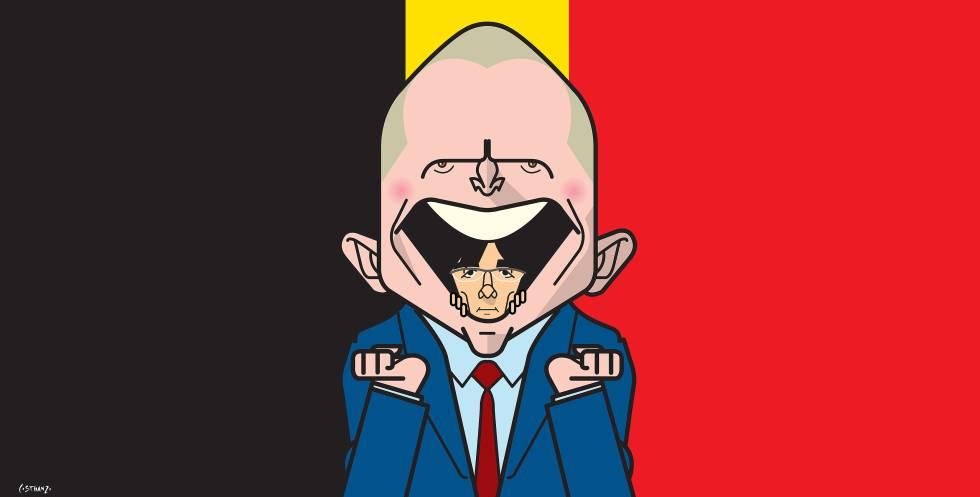 El amigo belga de Puigdemont
