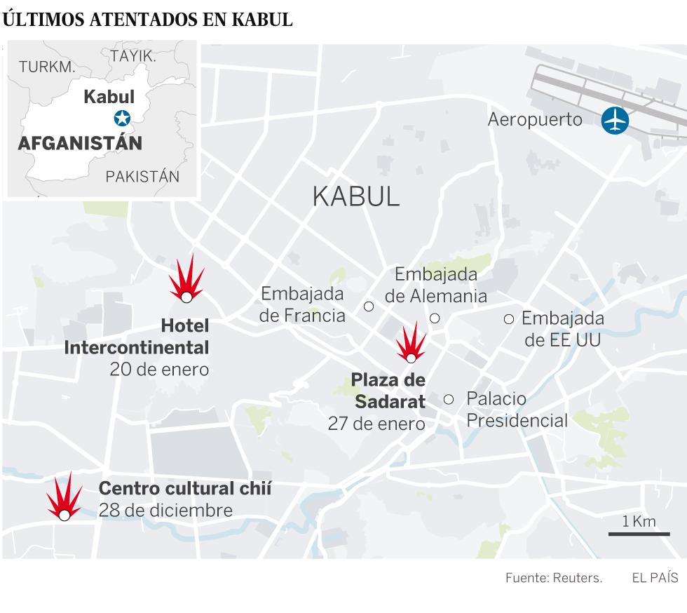 Al menos 95 muertos y 158 heridos al estallar una ambulancia bomba en Kabul