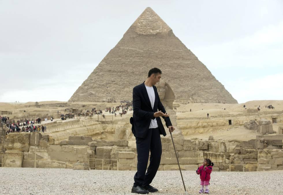 Resultado de imagen para El turco Sultan Kosen piramides de egipto